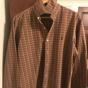 Men's Large Polo Button up